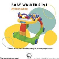 Baby Walker Baby Elle Babyelle 2 In 1 Be0188 Babywalker Worldid348