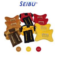 Seibu Bantal Mobil Headrest Sandaran Leher Kepala Set 3 in 1
