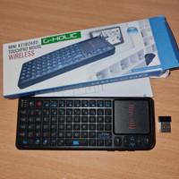Mini Keyboard touchpad wireless laser