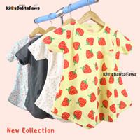 Kaos Moonella uk 3-4 Tahun / Baju Anak Perempuan Cewek Lengan Pendek