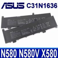 Baterai Battery Asus N580VN X580GD N580GD X580V N580VD X580VN C31N1636