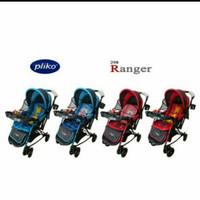 Baby Stroller Pliko Ranger 4in1 B/S 298R bisa jadi ayunan, best seller