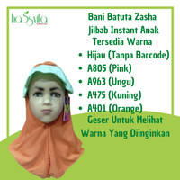 Jilbab Instant Anak Bani Batuta Zasha 5-6th