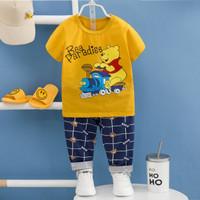 baju tidur anak /baju setelan anak laki laki/baju anak import 1-3th - 80