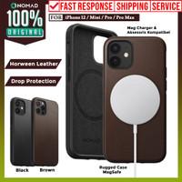 Case iPhone 12 Pro Max 12 Pro Mini Nomad Rugged Premium Leather Casing