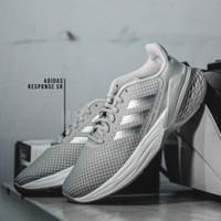 Adidas Response SR Grey Metallic Running Shoes Original BNIB