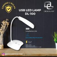 DIGIGEAR LAMPU BELAJAR MEJA BACA USB LED LAMP DL-100