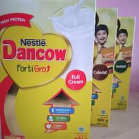 Dancow fortigro full cream/coklat /instant 800 gram