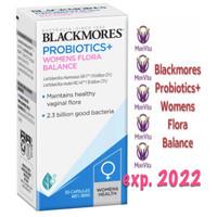 Blackmores Probiotics+ Womens Flora Balance 30 Kapsul