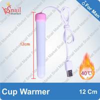 SNAIL Toys USB Warmer 12 Cm Snail Cup Pemanas Silikon Cup Pria
