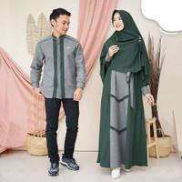 Asoka Couple Baju Gamis Pasangan Cp Muslim Syarii Terlaris