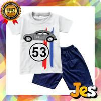 Baju setelan anak / Kaos setelan anak laki-laki Herbie 1-10 Tahun