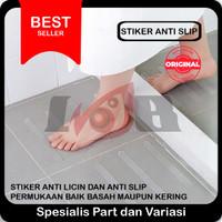 Stiker Anti Slip Bathtub Lantai Kamar Mandi Licin Kaca Keramik Tangga
