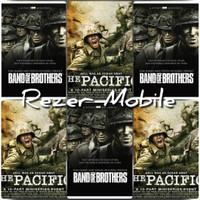 Flashdisk 32gb Film Perang Band of Brothers & The Pacific Bonus 2 Otg