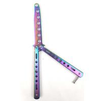 KNIFEZER Butterfly Balisong Pisau Lipat Training Portable Knife - C28
