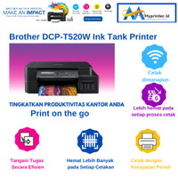 Brother DCP-T520W Ink Tank Printer PRINT-SCAN-COPY-WIFI-LCD
