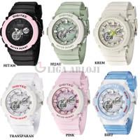 Digitec DG-4100T - Jam Tangan Wanita - Double Time - 4100 - Original