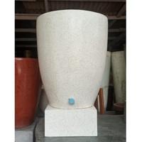 Bak Mandi / Gentong Air Handmade Tinggi 70cm