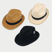 Topi Fedora tipe Trilby Pria dan Wanita Dewasa | Best Quality