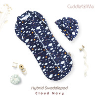 Bedong Instan Hybrid Swaddle pod Cuddle Me - No 7