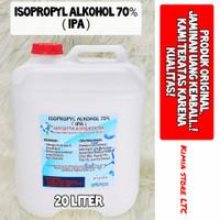 Isopropyl Alkohol 99% 20 Liter / Isopropyl Alkohol 70% 20 Liter - 70% isopropyl