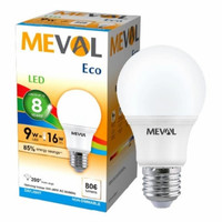 LAMPU LED BULB MEVAL ECO 9 WATT - PUTIH