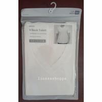 Kaos Cowok Miniso - Men's Breathable V-Neck Shirt