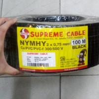 Kabel Serabut NYYHY 2x0,75 2x0.75 Supreme @100meter