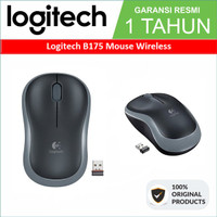 Original Wireless Mouse Logitech B175 Garansi Resmi 1 Tahun Asli B 175