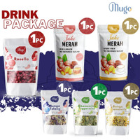 Package ALL (Chamomile, Telang, Mint, Rosella, Jahe Merah Gula Aren)
