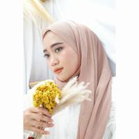 Pashmina Plisket Premium (promo free 1 set jarum pentul & ikat rambut)