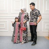 Couple satu keluarga gamis couple baju kondangan