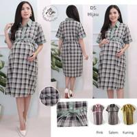 Baju Hamil Dress Hamil Menyusui Maternity XL DS-06