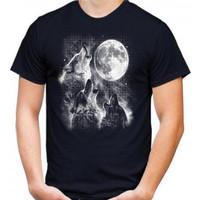 Kaos Pria SERIGALA, T-shirt Distro Baju Distro Pria Keren