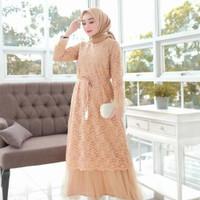 gamis humaira dress/humaira dress/dress wanita/gamis brukat/gamis