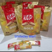 Kitkat Gold Limited Edition   Coklat Kitkat 8x17gr 2 Fingers