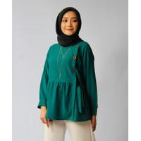 Aisyah Blouse Pita Green