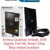 Antena Tv TOYOSAKI AIO-220 DVB Digital, Full HD, Smart Chip.[MURAH]