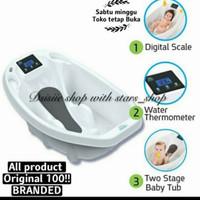 Aqua Scale 3 in 1 Baby Bath Original / Bak Mandi Bayi Digital