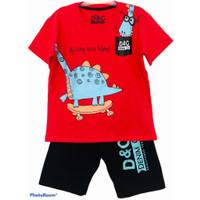 Setelan kaos baju anak laki laki size 1 2 3 4 5 6 7 8 9 10 Tahun #2223