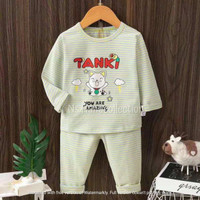 Baju tidur anak / Piyama set anak laki laki / Baju tidur anak cowok - Tanki, 95