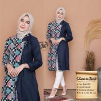 Baju Kemeja Wanita - Tunik Batik - Batik Wanita / Seragam Kantor