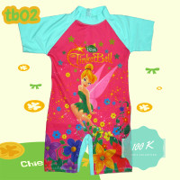Baju Renang anak diving karakter Princess