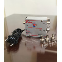 Booster TV /penguat sinyal TV/catv signal amplifier/satu antena dua tv