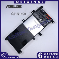 Baterai Asus A455L A455LA A455LB A455LD A455LF A455LN A455LV C21N1409