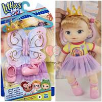 Baby Alive Littles Styles baju sepatu Ballet Set original Hasbro