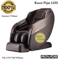Kursi Pijat ROVOS R657L - Bangku 3D Massage R657 L - Charger Port ORI