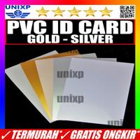 Kertas PVC Bahan ID Card Instan - Silver