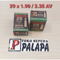 BAN DALAM SEPEDA MAXXIS UKURAN 29 x 1.90 / 2.35 AV SCHRADER