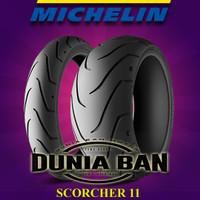 PAKET BAN HARLEY MICHELIN SCORCHER 11 UK 130/60-21 & 240/40-18 IMPORT